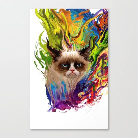 grumpys rich inner world Canvas Print