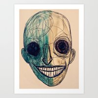 grin and- Art Print