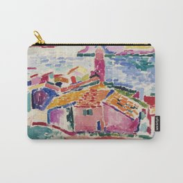 View of Collioure - Henri Matisse - Exhibition Poster Carry-All Pouch