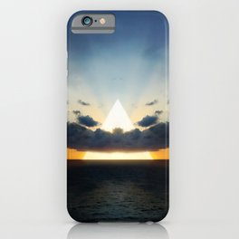 Abstract Environment 03: Volcano iPhone Case