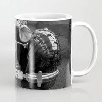 car Mugs featuring Car vintage by Veronika