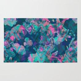 Geometric Floral Rug