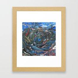 Animal Mandala Framed Art Print