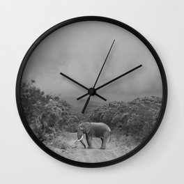 safari1 Wall Clock