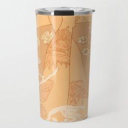 Flower Bath 10 (censored version) Travel Mug