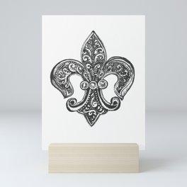 Fleur de Lis Mini Art Print