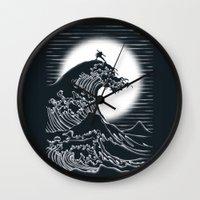 airbender Wall Clocks featuring Waterbending by Tobe Fonseca