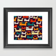 KItty-kitty-cat Framed Art Print