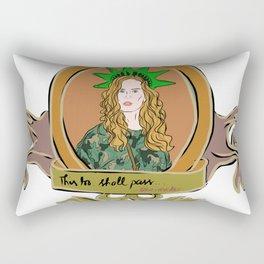 "Rebecca Mader ""bexmader"" This too shall pass Rectangular Pillow"