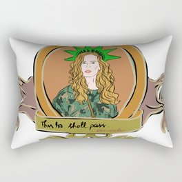"Rebecca Mader ""bexmader"" This too shall pass Rectangular Pillow"