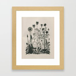 Nouveau Nature Framed Art Print