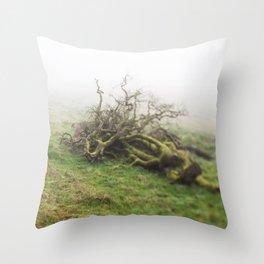 Tree Snag Throw Pillow