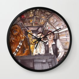 I've got a really bad feeling about this... Wall Clock