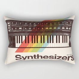 Synthesizers Club Rectangular Pillow