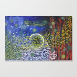 Under Water Life Canvas Print