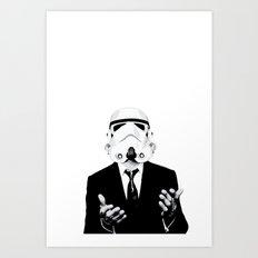 GQ Trooper Art Print