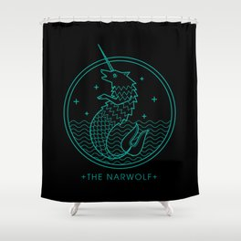 The Narwolf Shower Curtain