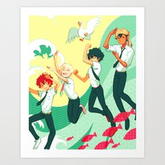 Enoshima-don Art Print