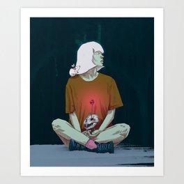 Spirited Art Print
