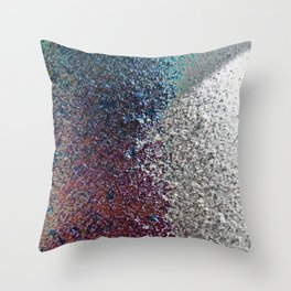 Colorful Dust in Sidelight Throw Pillow