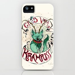Gruss Vom Krampuss iPhone Case