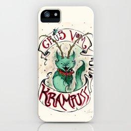 Gruss Vom Krampuss iPhone Case