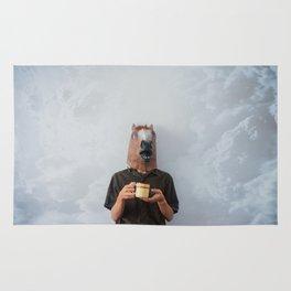 Horsehead Man Rug