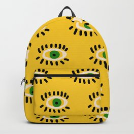 green eyes Backpack