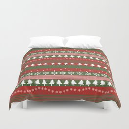 christmass and new year Duvet Cover