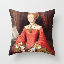 The Blood countess - Elizabeth Bathory Throw Pillow
