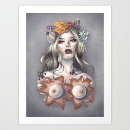 Fungal Queen Art Print