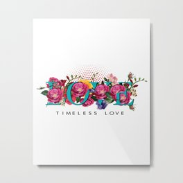 Timeless love Metal Print