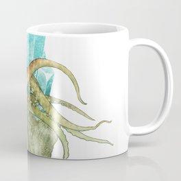 Squid and Aquamarine Coffee Mug