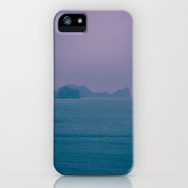 Foggy Horizon in Ha Long Bay, Vietnam. Nature Photography. iPhone Case