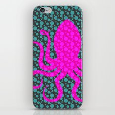Pink Octopus iPhone & iPod Skin
