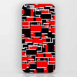 Black and Red iPhone Skin