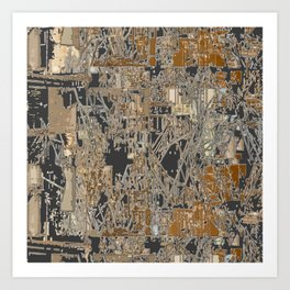 Steel factory II Art Print