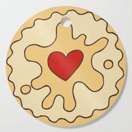Jammy Dodger British Biscuit Cutting Board