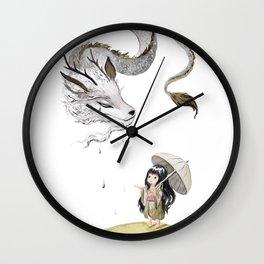 Water Dragon Wall Clock