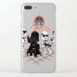 Dark Side Dis Clear iPhone Case