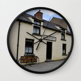 The Street I Call My Home Wall Clock