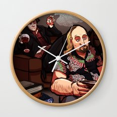 Blacks Books Wall Clock