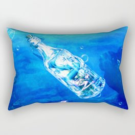 Underwater Jail Rectangular Pillow