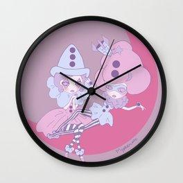 Petite Pierettes Wall Clock