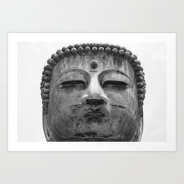 Great Buddha Art Print