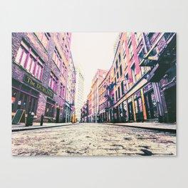 Stone Street - Financial District - New York City Canvas Print