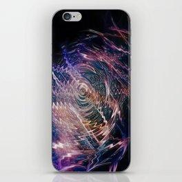 sound of darkness iPhone Skin