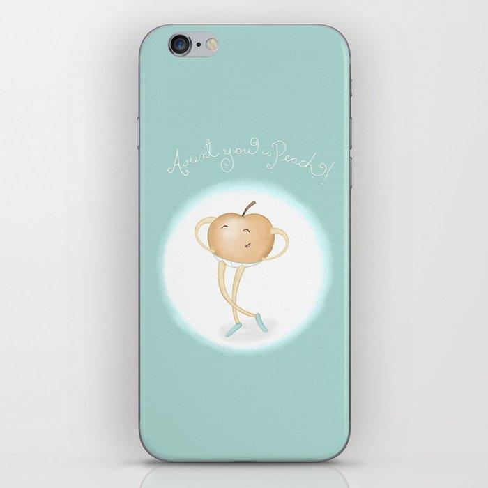 Aren't you a Peach? iPhone Skin