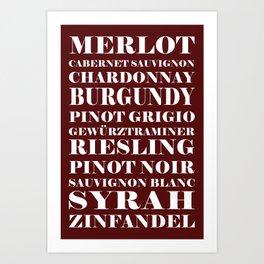 Wine Celebration Art Print
