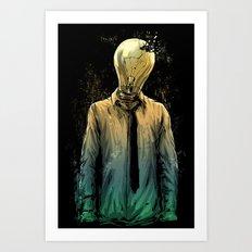 No more ideas Art Print